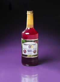 Nature's Pearl 100% Muscadine Grape Juice