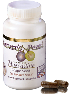 Nature's Pearl Muscadine Grape Seed Supplement
